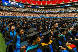 state university state university graduated more than 5 700 students receiving bachelor s master s and specialist s degrees at the university s spring and summer