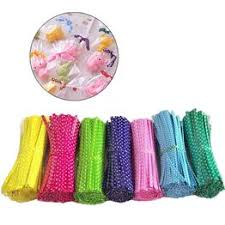 100 Pcs Metallic Wire PVC Sealer Rope Cable Tie Packaging ... - Vova