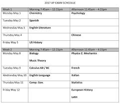 newton north high school homepage view the ap exam schedule