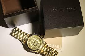 michael kors mens watch mk8077 gold