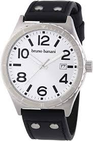 Bruno Banani Men's Quartz Watch Ares BR21021 with ... - Amazon.com