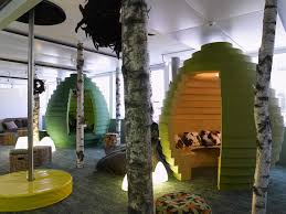 the google office the interior architecture ideas lobby office smlfimage