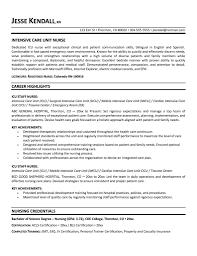 critical care nurse resume getessay biz icu intensive care unit nurse example by mplett for critical care nurse