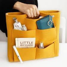 Bag in Bag <b>Felt</b> Casual Travel Multi-pockets <b>Storage Bag</b> Liner ...