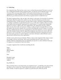 letter format resignation letter seangarrette coletter format writing a letter of resignation writing letter resignation examples of a letter of resignation for teachers