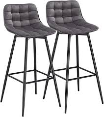 Furniture Chairs TUKAILAI <b>2PCS Bar Stools</b> Set of <b>2 pcs Barstools</b> ...