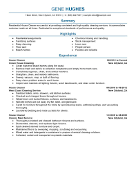 best residential house cleaner resume example livecareer create my resume