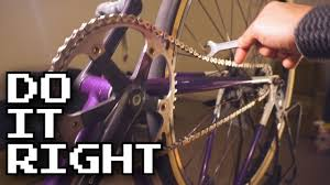 Easy Way to <b>Tension</b> Your Fixed Gear <b>Chain</b> - YouTube