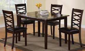 Inexpensive Dining Room Furniture Room Charming Design Tall Tables Chairs Design Glossy Dining Table