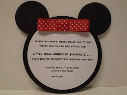 simple mickey mouse photo birthday invitations i m ready to simple mickey mouse photo birthday invitations