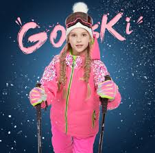 Detector Girl <b>Winter</b> Warm Skiing Suit Windproof <b>Ski Jacket</b> and Pant ...