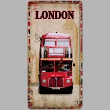 car plate metal tin sign bar wall decoration vintage poster home decor painting plaques 3001 111
