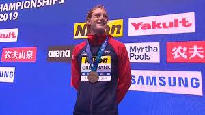 Greenbank swims lifetime best to win bronze at World Championships