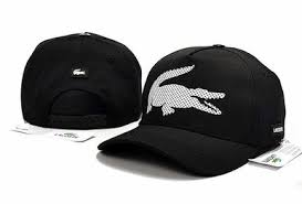 2020 <b>New hot sale</b> lacoste hat cap(Black with <b>White</b> Logo)