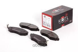 KOTL 3347KT <b>Комплект передних тормозных</b> колодок