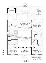 The Eco Box   Bedrooms and Baths   The House DesignersFloor Plan