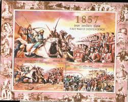 top causes of the revolt of in se tenant miniature sheet 1857 first war of independence error