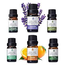 Pursonic 100% Pure Essential Aromatherapy Oils Gift ... - Amazon.com