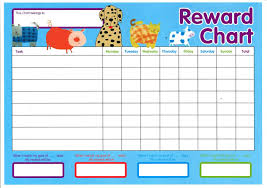 printable reward chart template activity shelter image via calendartemplatesite com