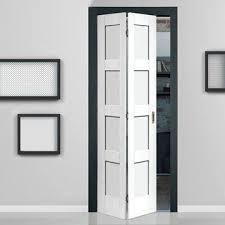 Shaker <b>4 Panel</b> Bifold Door - White Primed in 2019   White bifold ...