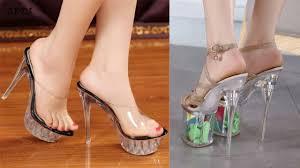 Trendy <b>New</b> elegant transparent <b>sandal slippers</b> - YouTube
