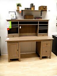image of wood small desk with hutch amazing build office desk