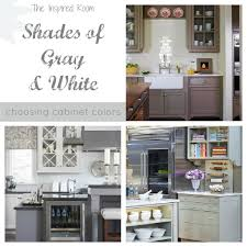 Gray And White Kitchen Designs Shades Of Neutral Gray White Kitchens Choosing Cabinet Colors