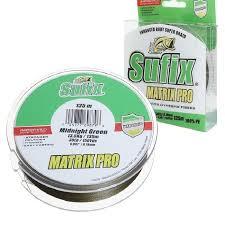 Купить <b>Леска</b> плетеная <b>SUFIX Matrix Pro</b> зеленая 135м 0.40мм ...