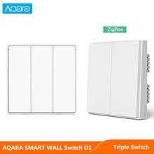 Умный настенный <b>выключатель Aqara</b> D1 Zigbee, <b>Беспроводной</b> ...