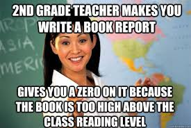 Unhelpful High School Teacher memes | quickmeme via Relatably.com