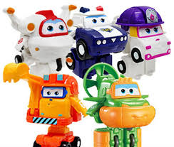 New Original Mini Super Wings ABS Robot Toys Action Figures ...