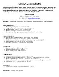 resume writing online how to resume creating a great resumes this how to write good resume a good resume for job student how to make a