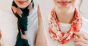 Как красиво <b>завязать платок</b> и <b>шарф</b> на шее