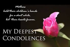 Condolence Quotes Words & Sayings on Death of Someone
