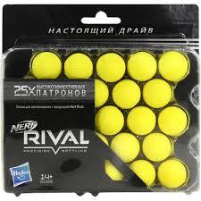<b>Игрушка Hasbro Nerf Rival</b> 25 шаров — купить в городе ДЕРБЕНТ