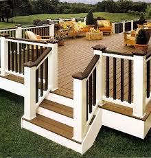 wooden patio deck designs design