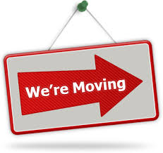 Image result for we're moving graphic
