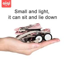 AIQI <b>BABYYOYA lightweight</b> portable folding <b>mini</b> baby <b>stroller</b> can ...