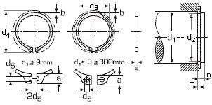 DIN 471 <b>Кольцо</b> стопорное наружное
