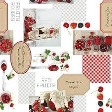 <b>Клеенка</b> ПВХ Photoprint Фрукты-ягоды 734, <b>1.4</b>х20 м в Тамбове ...