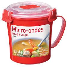 """Кружка суповая <b>Sistema</b> """"<b>Microwave</b>"""", 656мл, СВЧ, <b>1107</b>"""