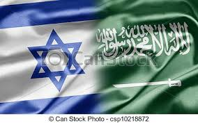 Image result for SAUDI-ISRAELI FLAG