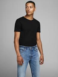Basic <b>o</b>-<b>neck</b> regular fit t-<b>shirt</b> | JACK & JONES