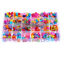 <b>1Box Mixed Shapes</b> Acrylic Alphabet Beads For Jewelry Findings ...