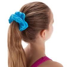 <b>Резинка для волос</b> для плавания для девочек синяя NABAIJI ...