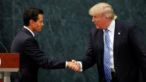 Image result for donald trump in mexico
