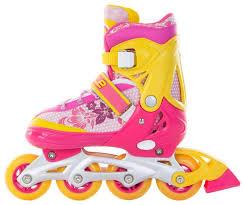 Купить роликовые <b>коньки Start Up</b> Style Розовый/Оранжевый ...