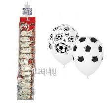 Купить Набор воздушных шаров Поиск Футбол 30cm 5шт ...