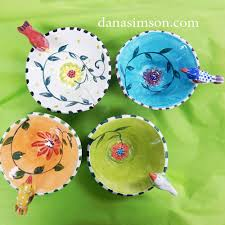 Birdie Bowl - Dana Simson Design