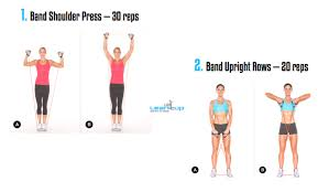Image result for resistance band shoulder